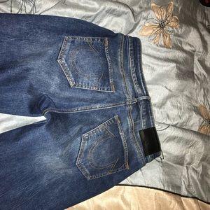 true religion size 26 jeans
